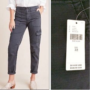 Anthropologie pant New with tag cargo ripstop